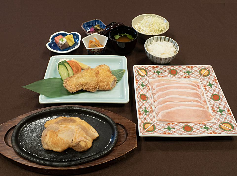 岡山黒豚料理
